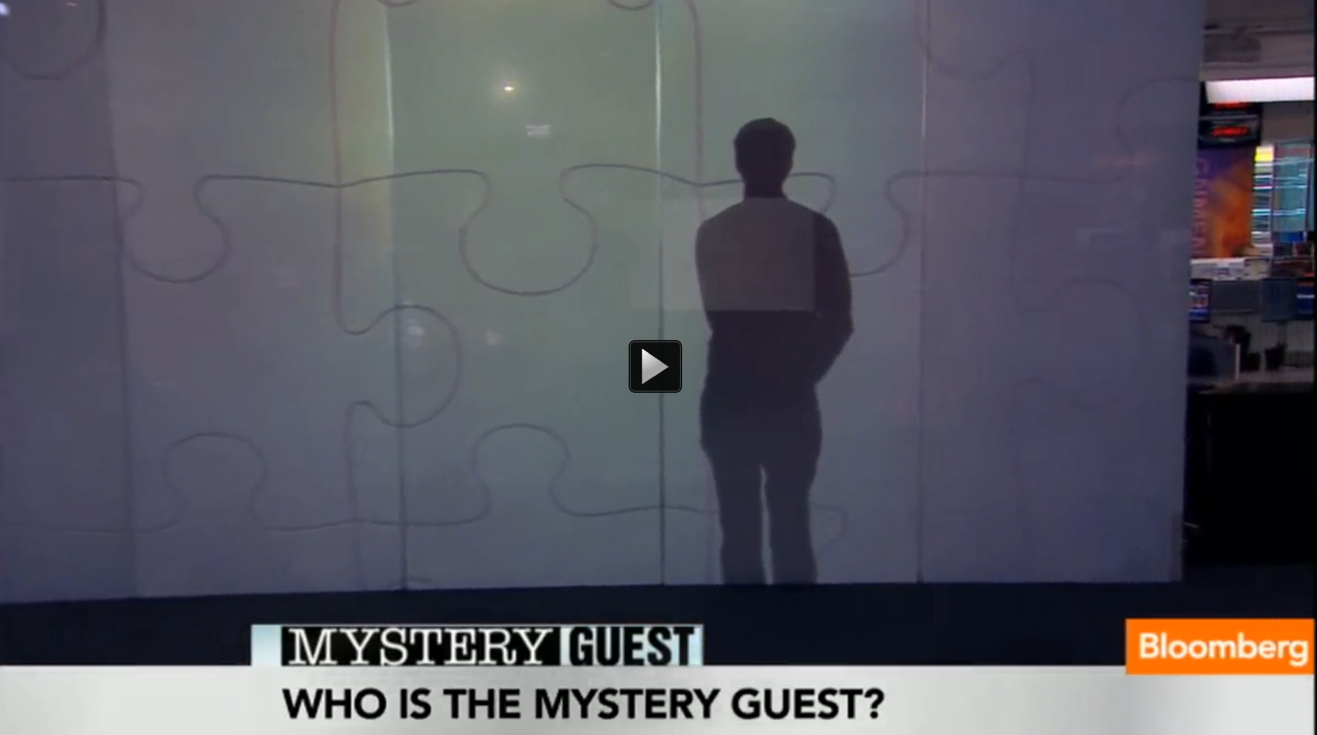 Mystery Guest: `I Put on the Webby Awards'