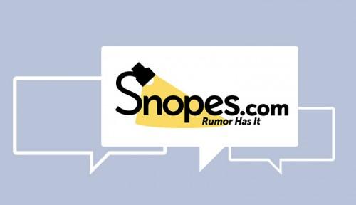 Racing Against The Web's Rumor Mill