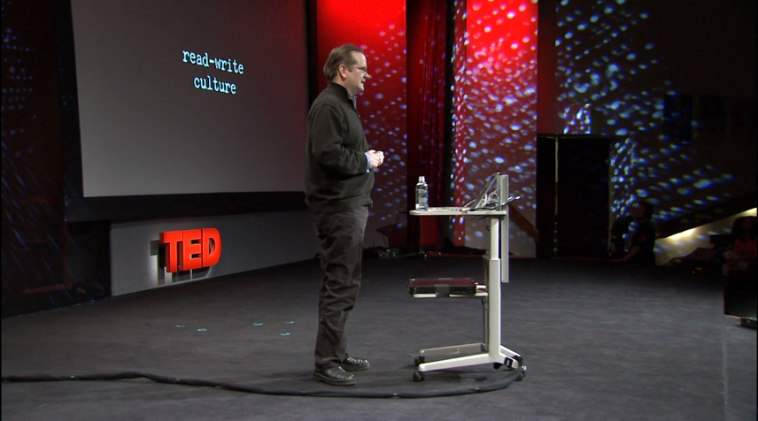 Webby Judge Lawrence Lessig delivers a TED Talk in 2007