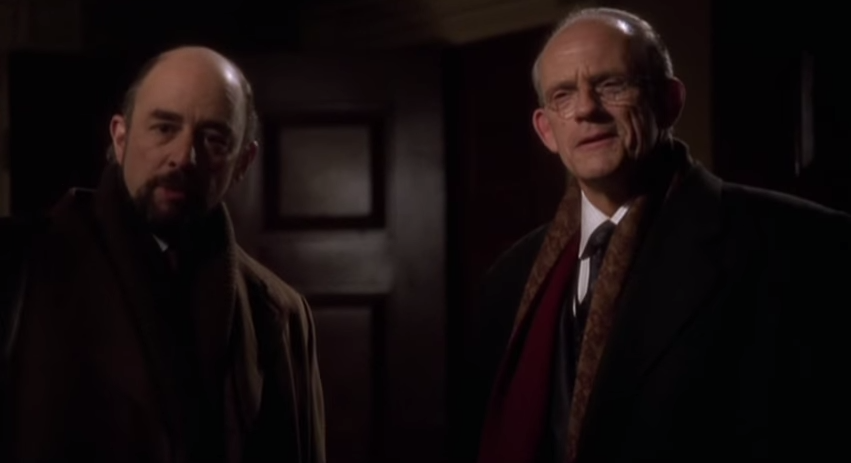 Christopher Lloyd as Professor Lawrence Lessig on The West Wing