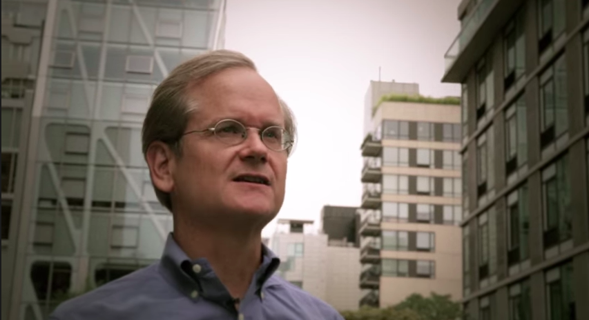 Lawrence Lessig talks about his Mayday Super PAC