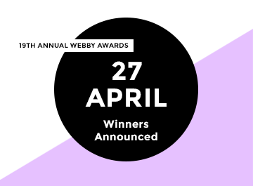 19th Annual Webby Winners Announced April 27
