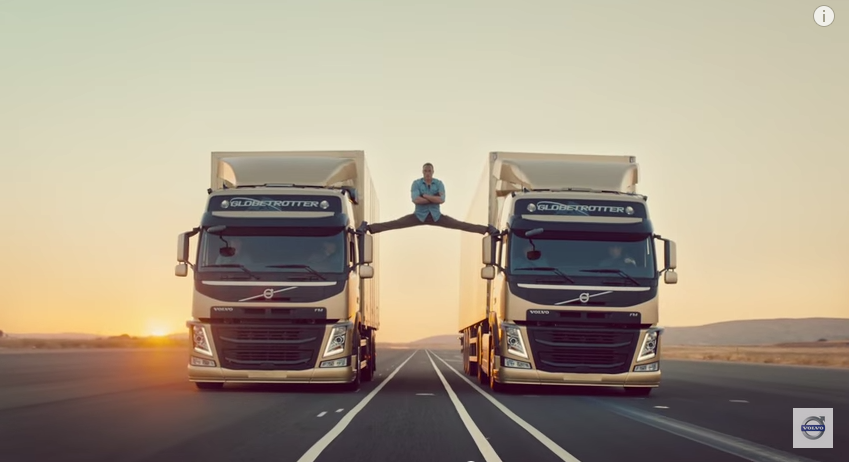 The Epic Split feat. Van Damme is your 4th most favorite YouTube ad of the decade.