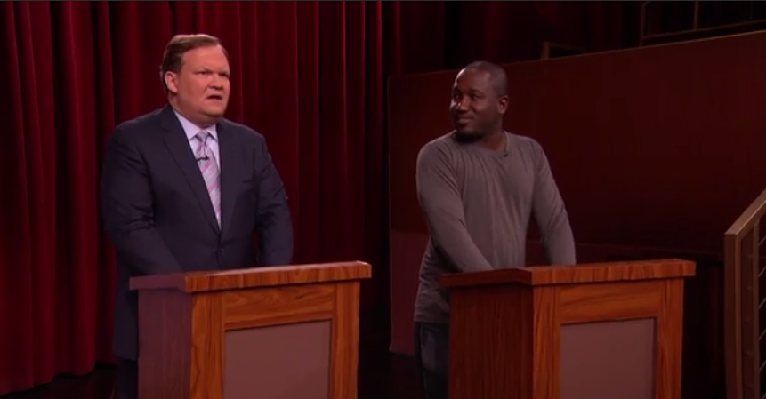 HANNIBAL BURESS REPLACES ANDY RICHTER