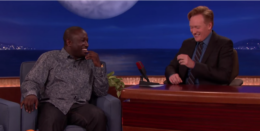 HANNIBAL BURESS CRACKS CONAN UP
