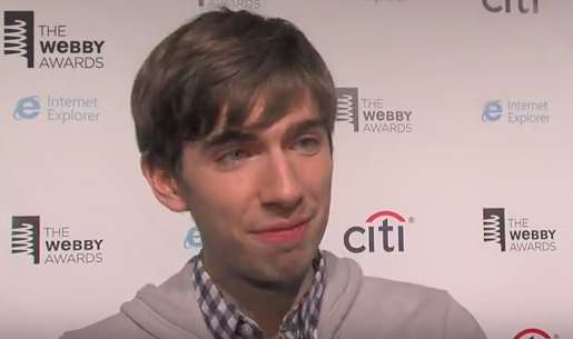 David Karp on the 17th Annual red carpet