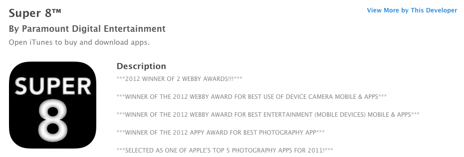 Let Your Customers Know Your App Is Award-Winning