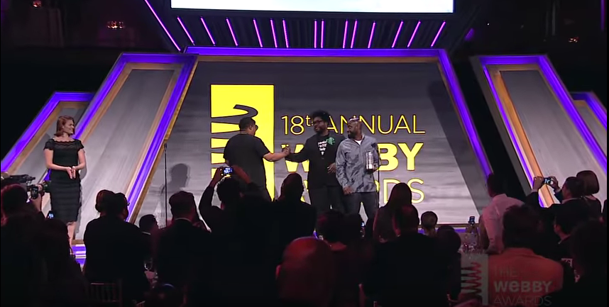 Questlove & De La Soul at the 18th Annual Webby Awards