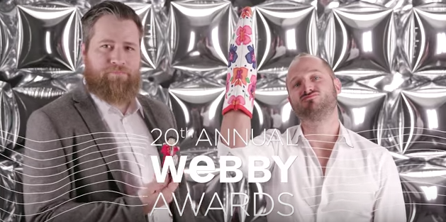 Tastemade's 5-Word Speech at the 20th Webbys