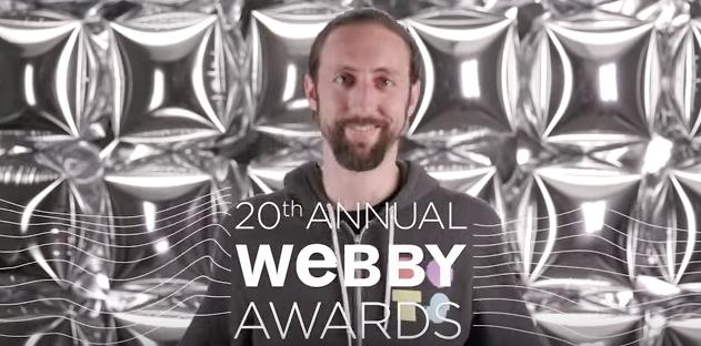 Dots' 20th Webbys 5-Word Speech!