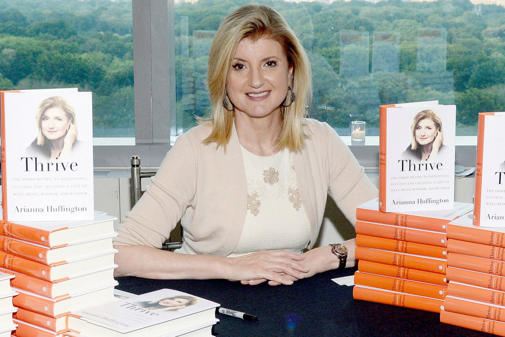 Arianna Huffington_Author_Books_Thrive_Publishing_Female Writers_Judges Spotlight_Feature_5 Things You Should Know About
