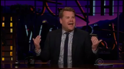 James Corden Announces his two Wins in the 20th Annual Webby Awards!