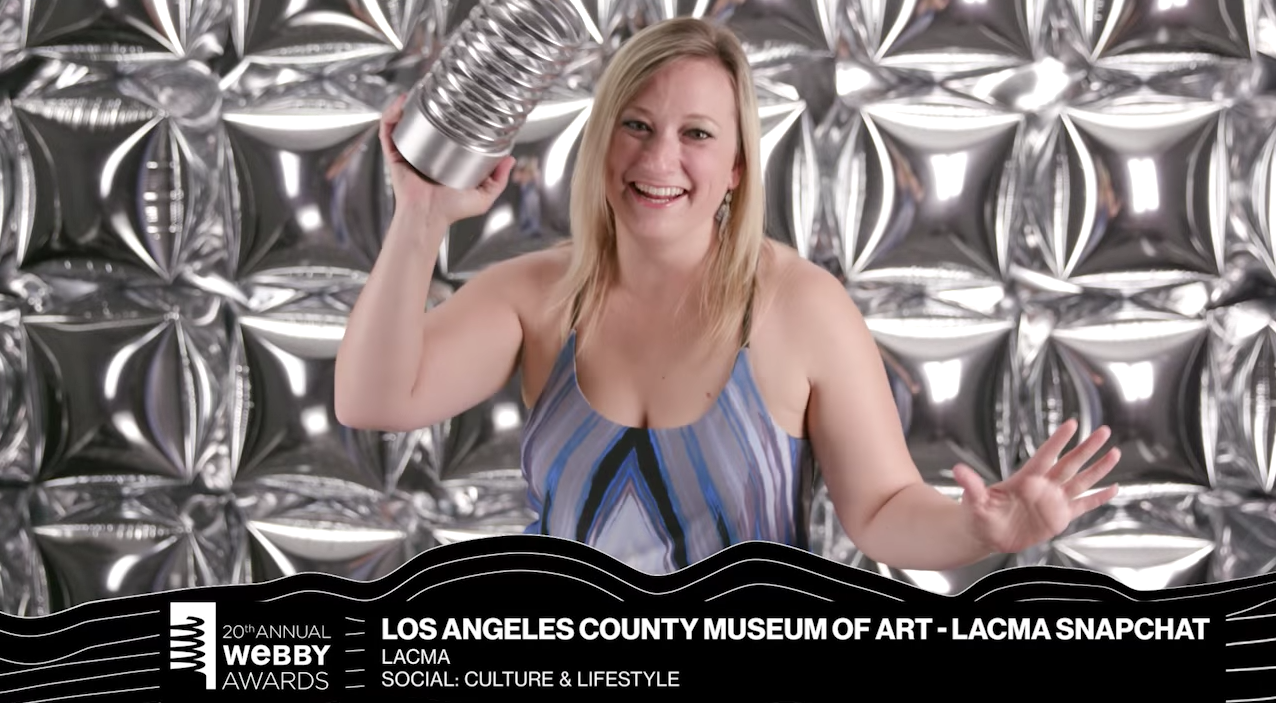 LACMA's 5-Word Speech, 20th Webbys