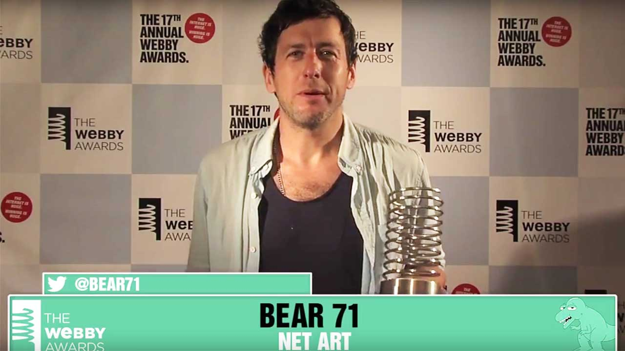 Bear 71's 5-Word Speech, 17th Webbys